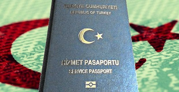 hizmet pasaport-gri pasaport